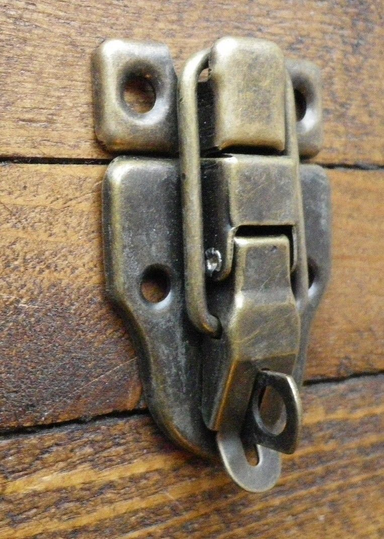 New Large Metal Buckle Catch Latch For Medium Large Box